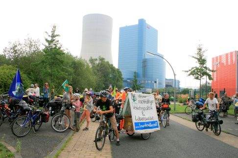 Tour de Natur 2014, Coal Power Station Datteln