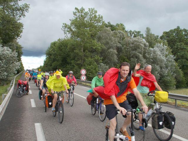 Tour de Natur 2017 an der Iffezheimer Staustufe