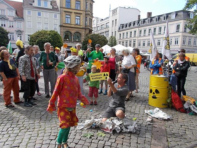 Theaterstück Atommüll in Braunschweig