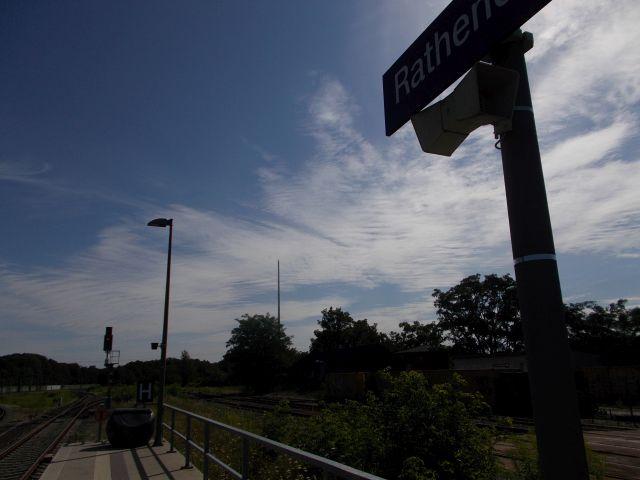 Brandenburgische Städtebahn: totes Gleis nach Norden
