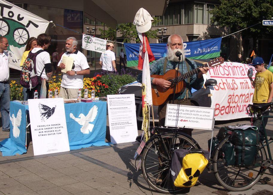 Hiroshimagedenktag am 6.8. in Essen
