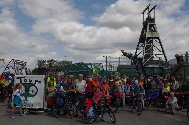 Tour de Natur vor Schacht Konrad