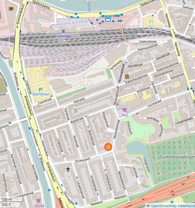 screenshot Open street map