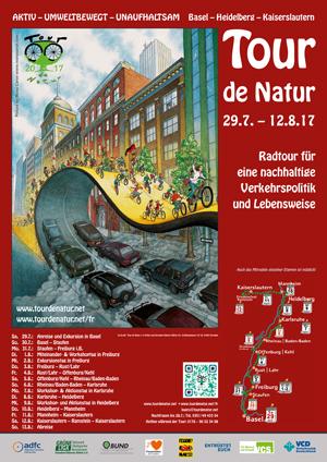 Plakat Tour de Natur 2017