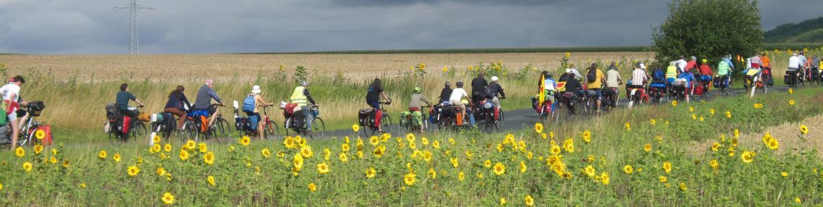 Tour 2015 auf dem Weg nach Helmstedt